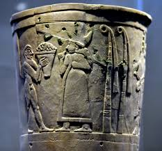 Offering to Inanna, Warka Vase [Top Register] (Illustration) - Ancient  History Encyclopedia